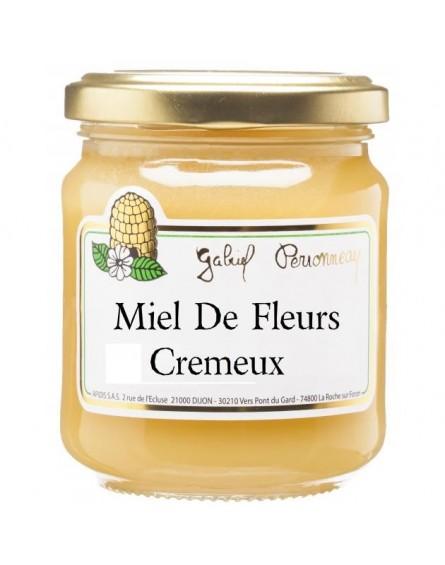 miel de fleurs crèŽmeux bio apidis 250g