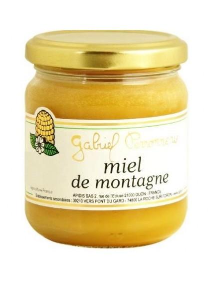 miel produit de montagne bio apidis 250g