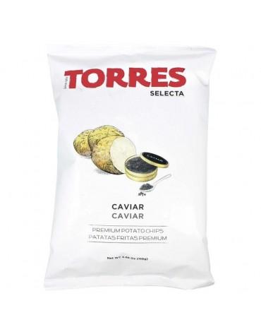 Chips au caviar-Torres