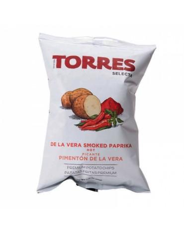 Chips au paprika fumé (Pimenton de la Vera)-Torres